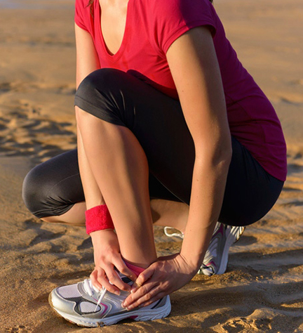 ankle pain and heel pain