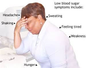 hypoglycemia symptoms, low blood sugar